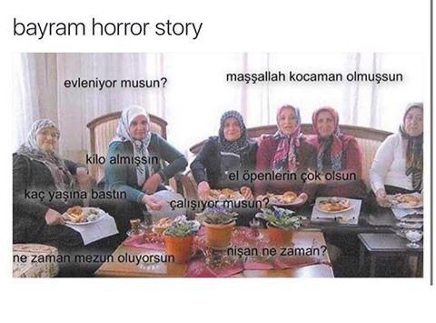 Bayram Horror Story Scene